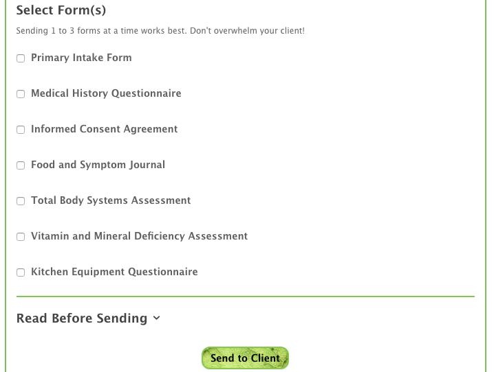 Advanced Form Sender Preview 2
