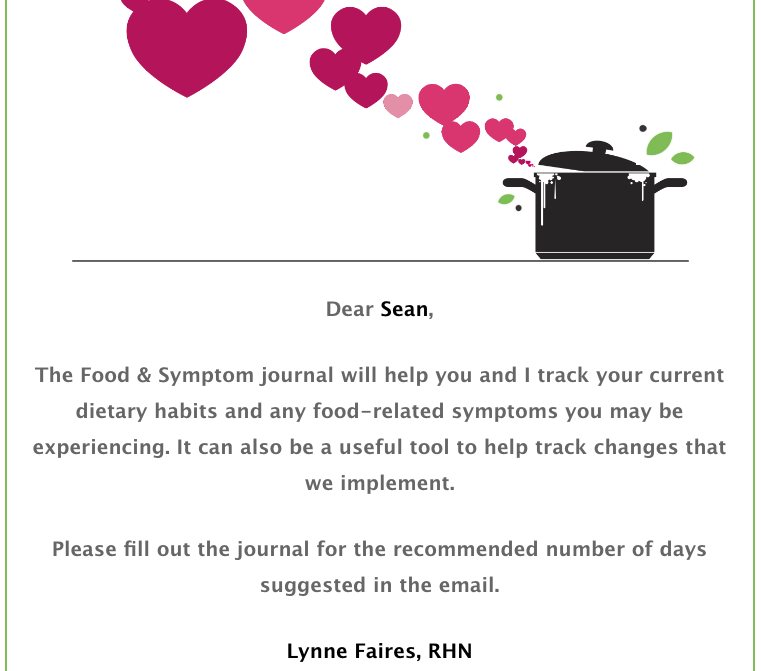 Food and Symptom Journal Preview 1