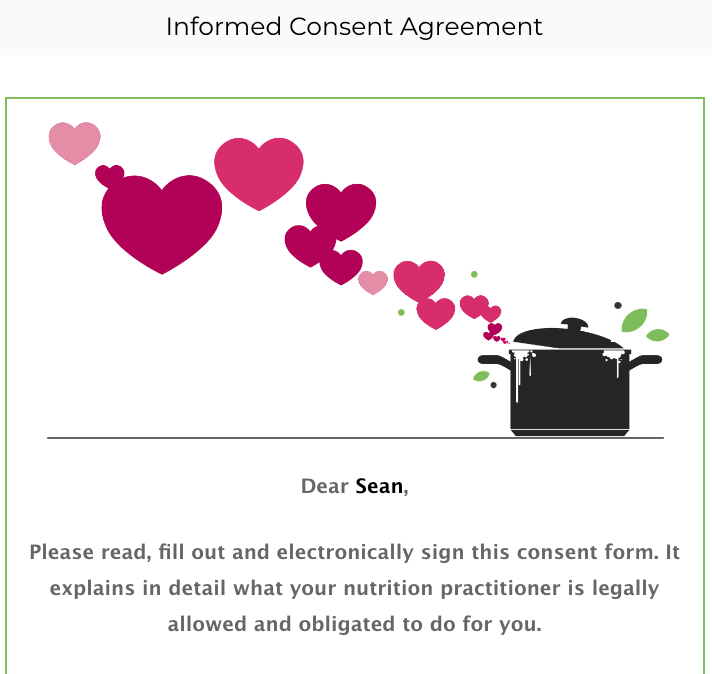Informed Consent Agreement Preview 1
