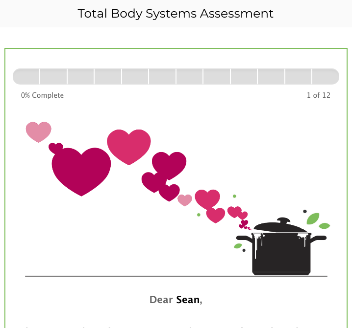 Total Body Systems Assessment Preview 1