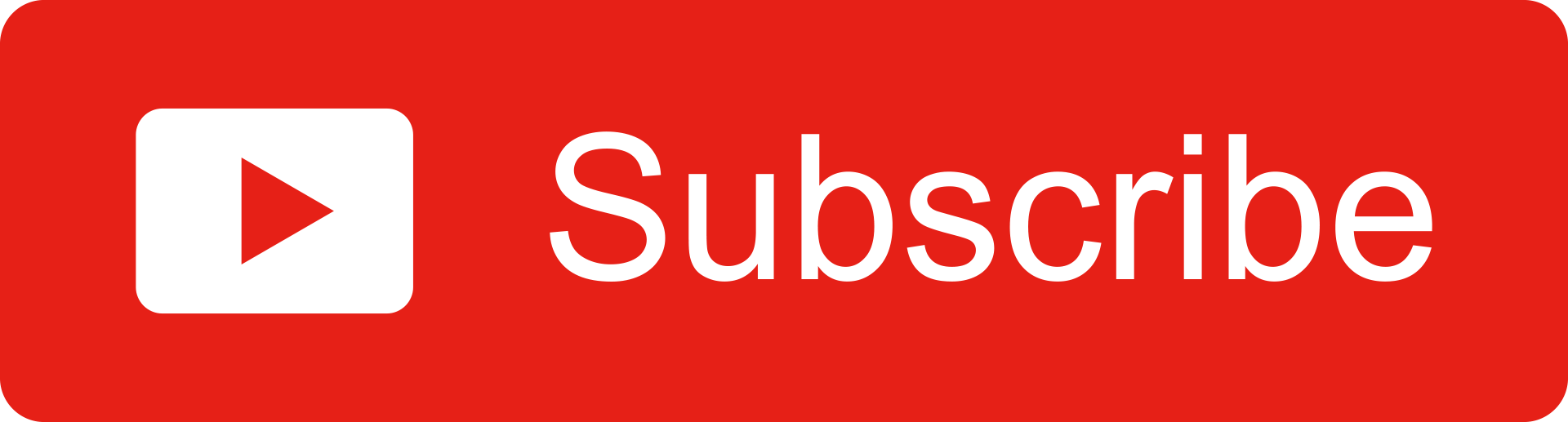 Youtube Red Subscribe Button
